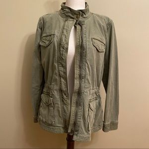 Lucky Brand Olive Military Jacket
